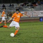 Overtime Goal Lifts Hounds on Senior Night