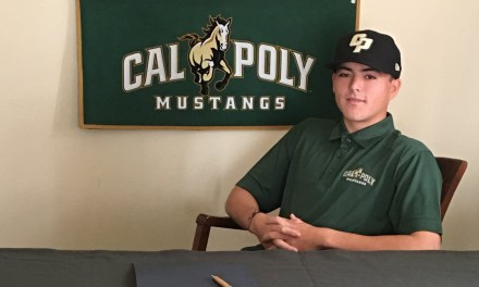 Paso Robles High Senior Wright Signs Letter to Play Baseball at Cal Poly