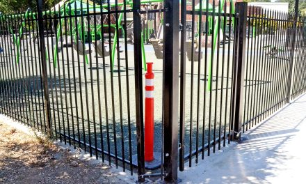 Fence Damaged at Joy Playground
