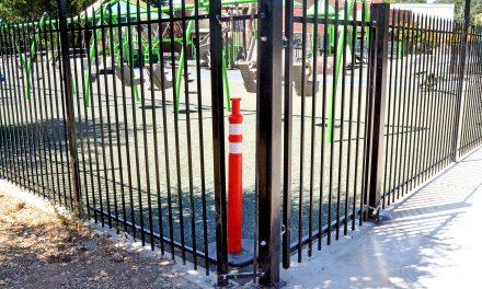 Fence Damaged at Joy Playground