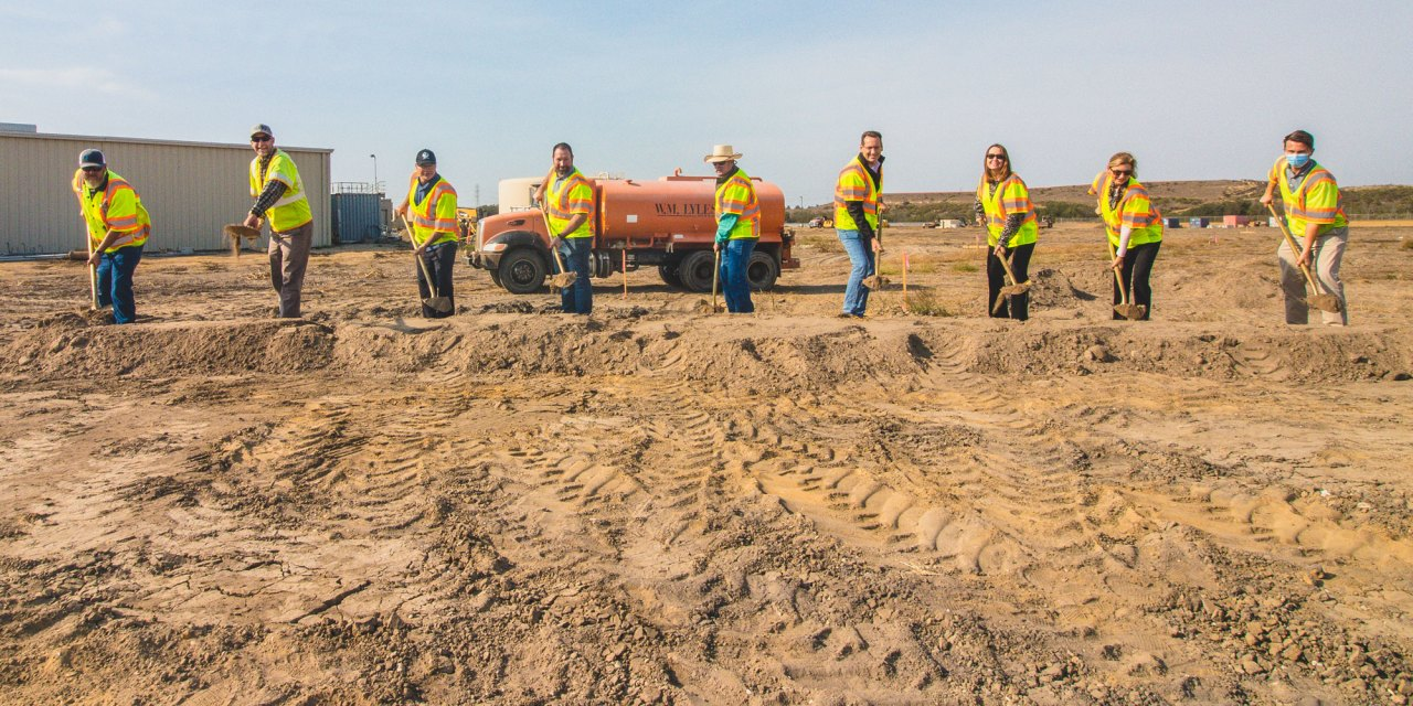 County Breaks Ground on Laguna Sanitation District Upgrade Project