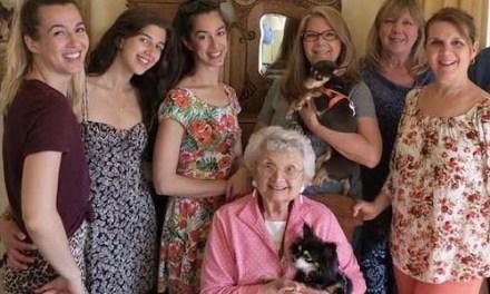 Three Generational Family Joins La Cuesta Chapter, NSDAR