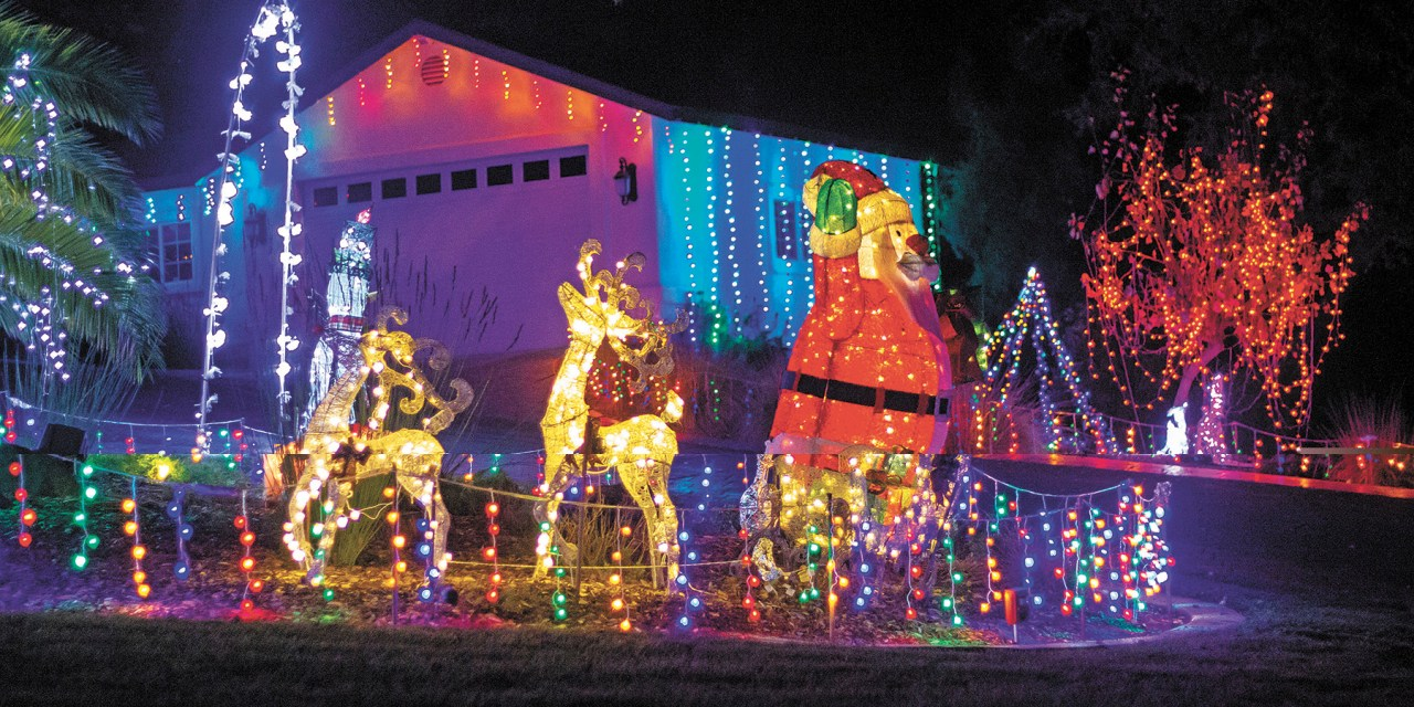 Atascadero Resident Lights Up the Night