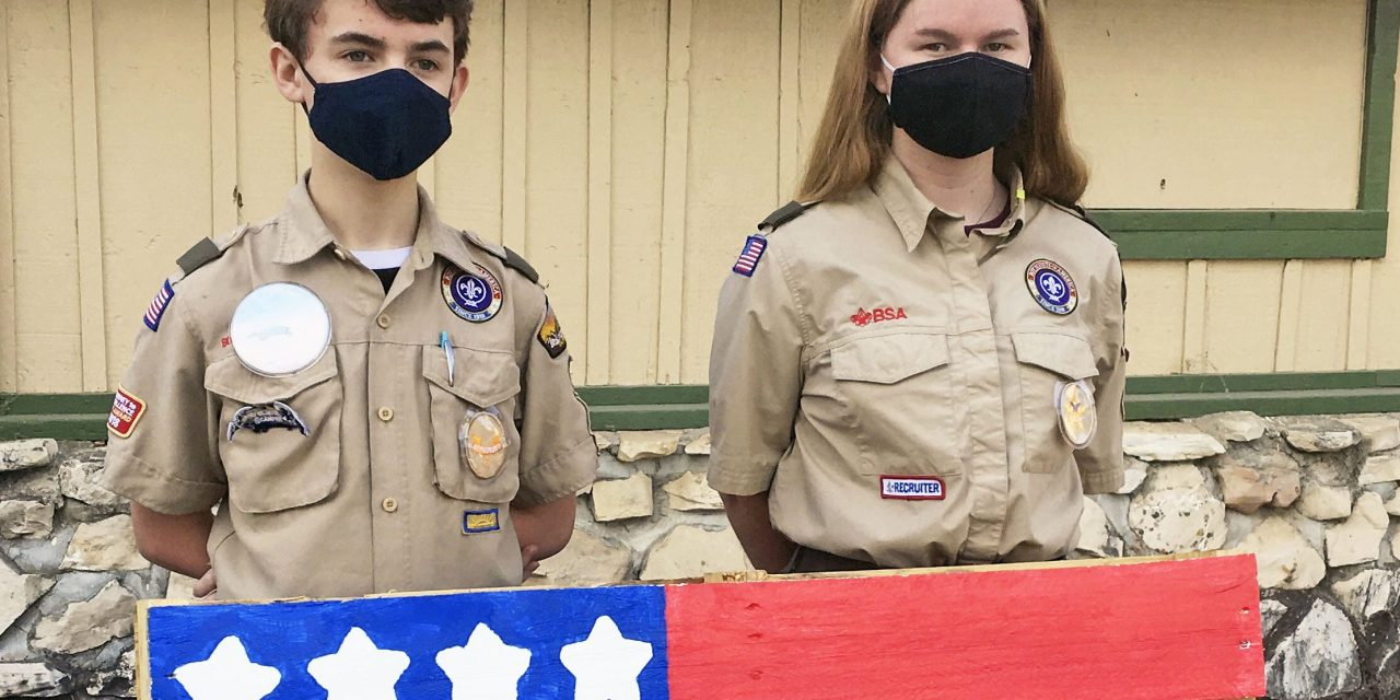 Paso Robles Scout Troops Invite Community to Purchase Handcrafted Pallet Flags this Saturday, Nov. 7