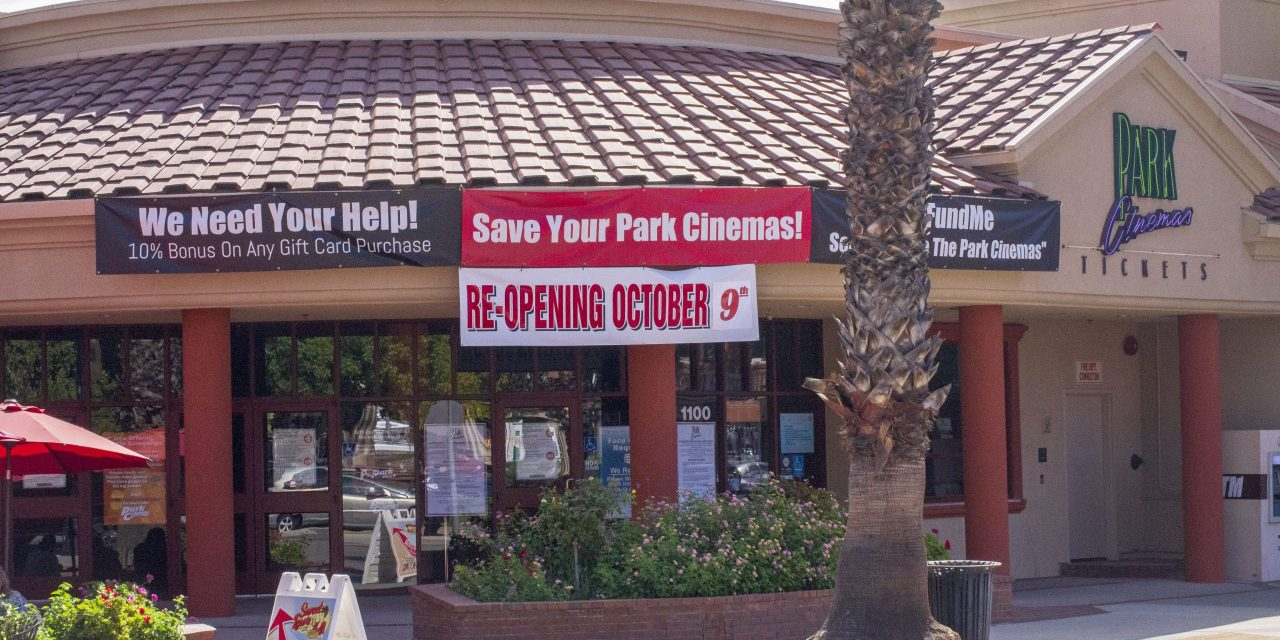 Park Cinemas Reopened Oct. 9 and is Showing Five Movies