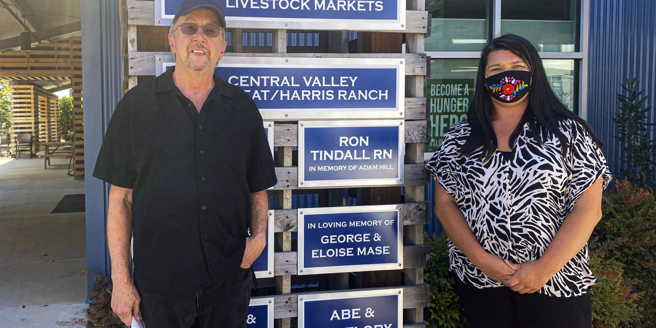 Ron Tindall Donates $10,000 to SLO Food Bank in Memory of Adam Hill