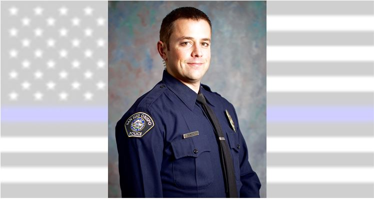 SLO Police Detective Luca Benedetti Killed in the Line of Duty