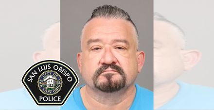 San Luis Obispo Man Arrested by SLOPD for Impersonation of a Police Officer and Illegal Possession