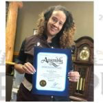 Steampup Parlor Awarded Certificate of Recognition by Assemblyman Cunningham