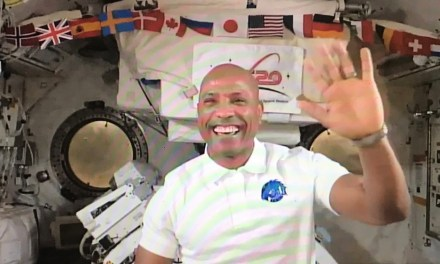 NASA Astronaut Victor Glover Provides Inspiration to Black Cal Poly Students From Space