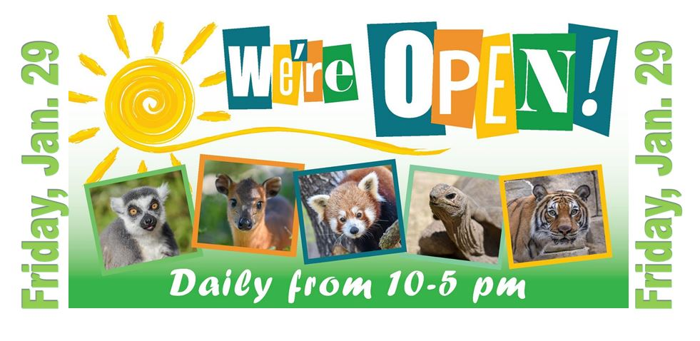 Charles Paddock Zoo Re-opens Friday, Jan. 29