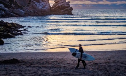 Surf's Up with SLO Cal Open at Morro Rock
