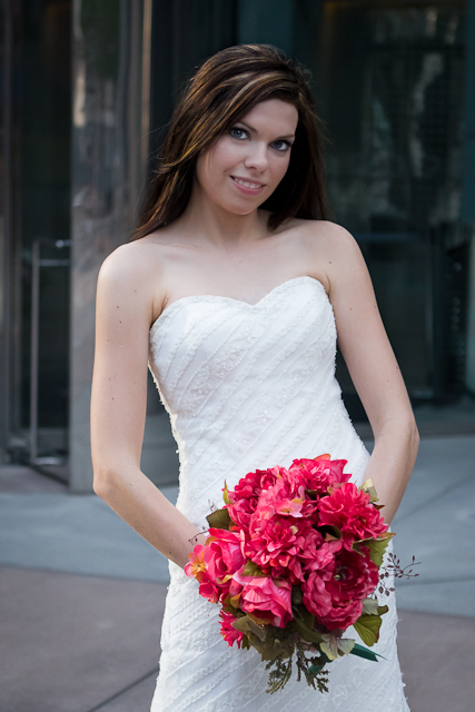 Houston Bridal Portrait Downtown