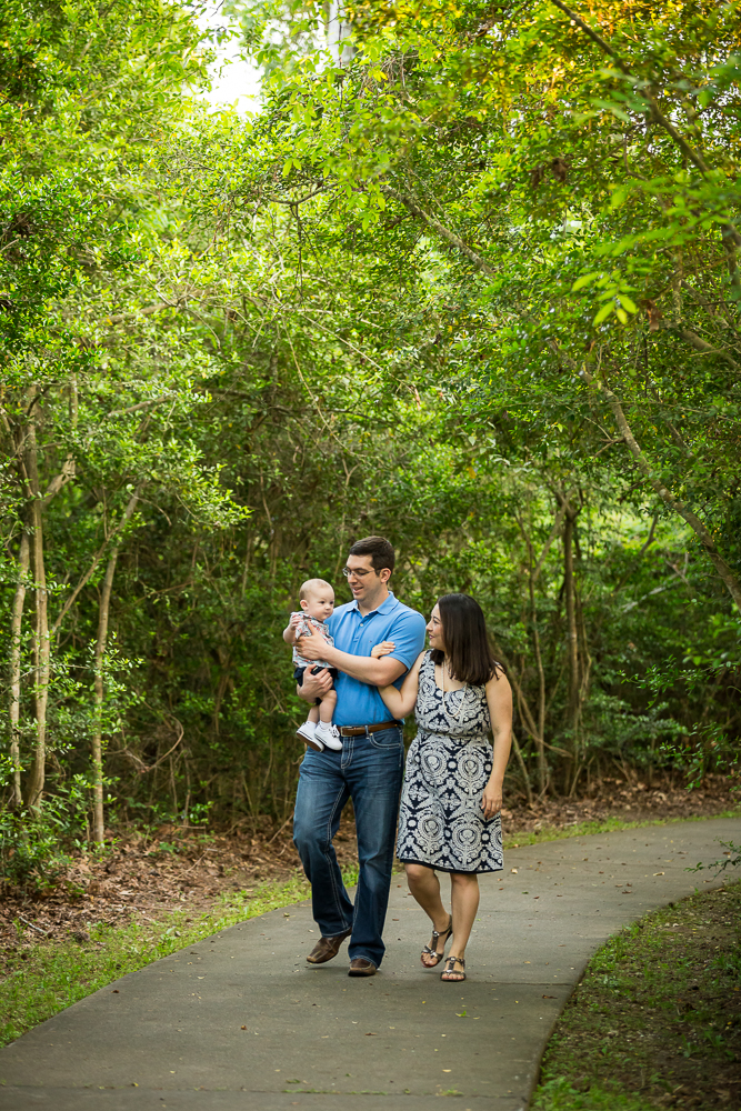 Family Portrait Session in Kingwood by Atascocita Photography