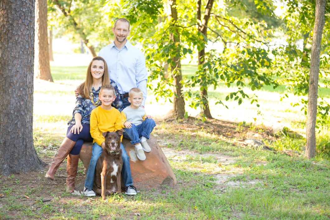 Atascocita Family Portrait Session McGee