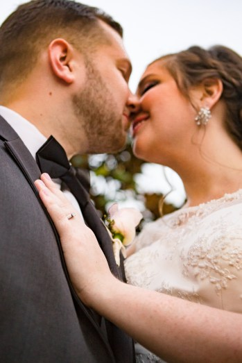 The Woodlands Resort Wedding Photographer captured the bride and groom during their portrait session.