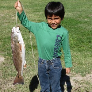Fishing Arroyo City Red Fish at Atascosa Outlook South Texas Bed and Breakfast.