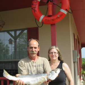Fishing Arroyo City Snook at Atascosa Outlook South Texas Bed and Breakfast.