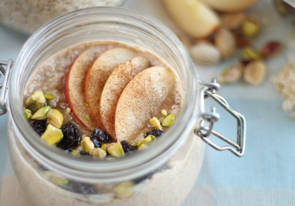 Spiced Apple Bircher Muesli