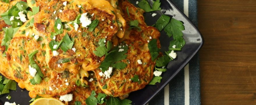 Creamy Goats' Cheese Fritters