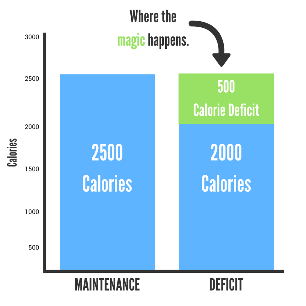 How To Lose Body Fact Calorie Deficit