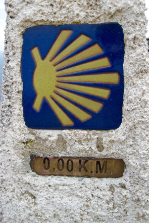 the end of the road, 0 km