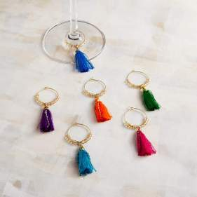 Tassel Wine Charms March 9