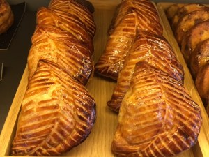 A dozen Golden Brown French Pastry