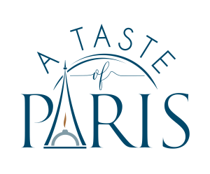 A Tast of Paris Logo. Eiffel Tower