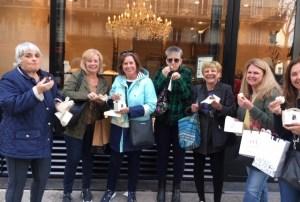 ATOP 2019 group at Aux Merveilleux de Fred, Paris