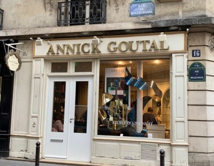 Store front of Annick Goutal Paris