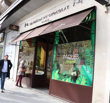 La Maison du Chocolate in Paris.