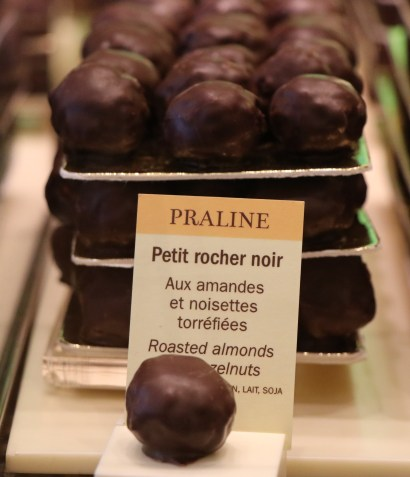 Favorite bit at La Maison du Chocolat, Paris.