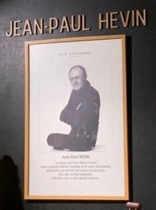 Jean-Paul Hevin poster.