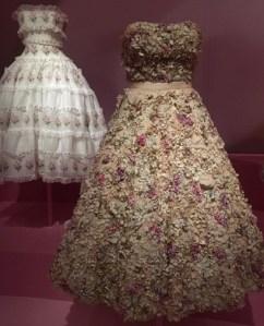 Silk floral Dior gown