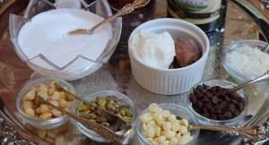 gelato toppings