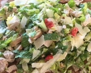 Chicken Cesar salad.