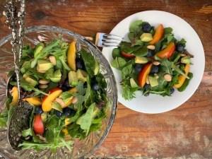 Crisp summer salad