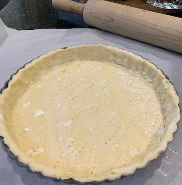 prepared tart crust