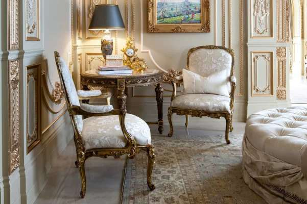 Cute pair of French Chairs