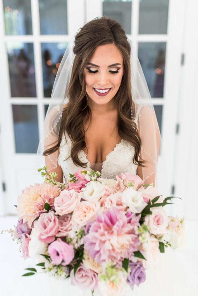 Brooke was a beautiful bride.