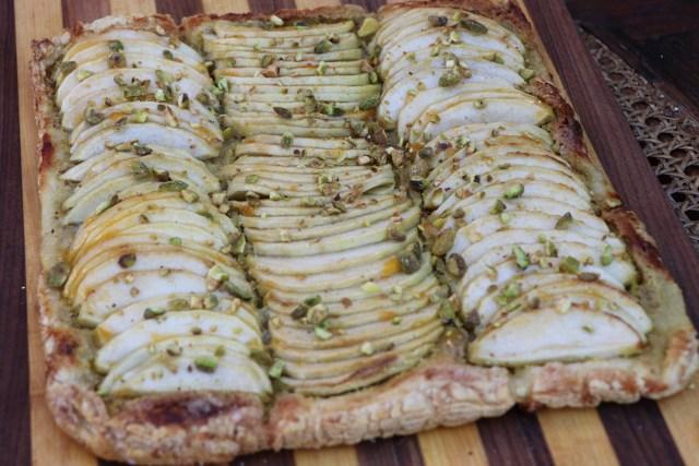 Apple Pistachio Tart Recipe