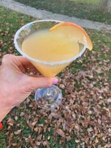 Delicious Peartini recipe- fall in a glass