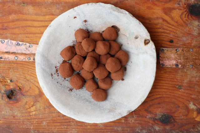 Delicious Cointreau Dark Chocolate Truffle Recipe
