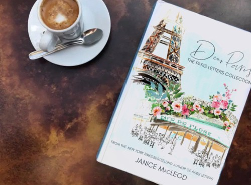 Cooking, Authors, Food & Wine Janice MacLeod's new book, Dear Paris