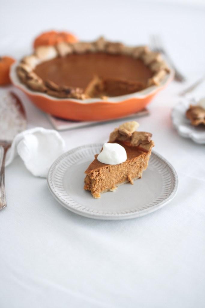 Easy as Pie Pumpkin Pie