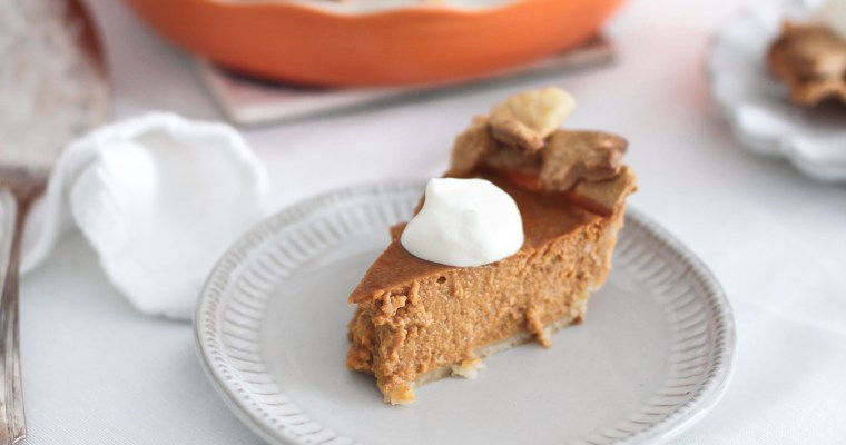 Easy as Pie Pumpkin Pie