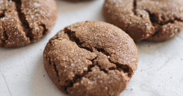 Soft Chewy Ginger Molasses Cookies