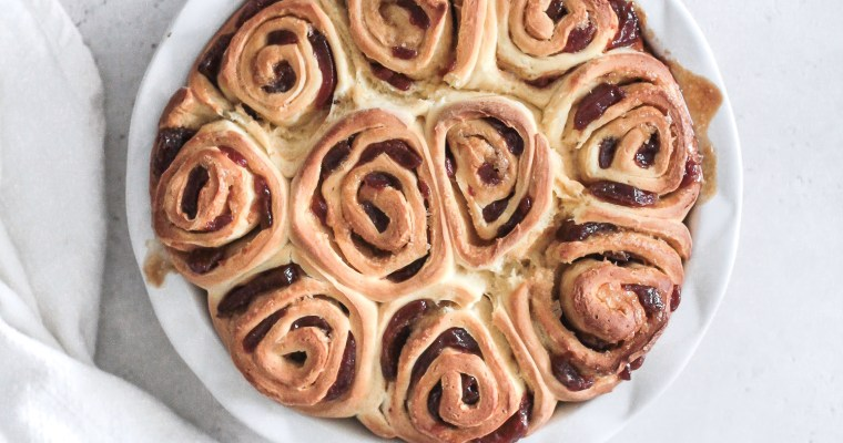 Guava Cream Cheese Morning Rolls