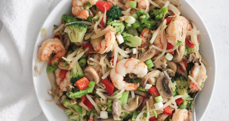 Shrimp Veggie Stir Fry